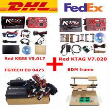 EU Red Kess V2 V5.017 + KTAG V7.020 24 LED+EU 0475 FGTECH Galletto 4 +BDM Frame