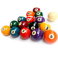 Billardkugeln Billard Pool Kugeln Billardball Set hochglanzpoliert Ø 57,2 mm