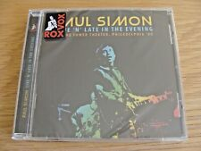 CD Album: Paul Simon : Live 'N' Late In the Evening Philadelphia 1980 : Sealed