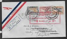 THAILAND 1930 (31 Dec) Bangkok to Hanoi Goodwill - 17109