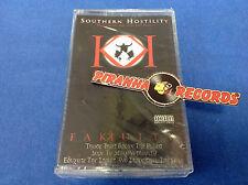 Fakkulty Southern Hostility Cassette Tape SEALED XBR-5001 Piranha Records