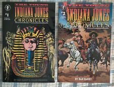 The Young Indiana Jones Chronicles #1 - 2 - Dark Horse 1992 - Near Mint (NM)