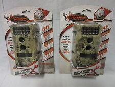 2 pack Wildgame Innovations Blade X 8MP lightsout blackflash Kryptek Camo t8i14c