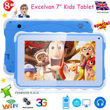 7 INCH KIDS TABLET PC ANDROID 4.4 A33 QUAD CORE WIFI DUAL Camera 8gb CHILD GIFT
