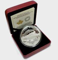 2014 Canada $30 Dollars 2 Oz 9999 silver 100th Ann. Grand Trunk Pacific Railway
