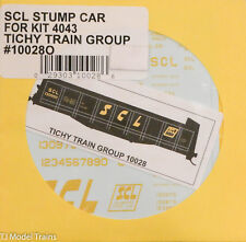 Tichy Train Group O #10028O SCL Stump Car for Kit #4043 (Decal)