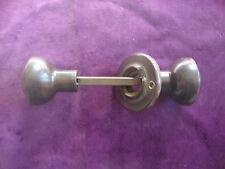 Vintage brown bakelite rimlock handles