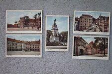 Lot of 5 Antique Den Haag Netherlands Holland Binnenhof Postcards Unused