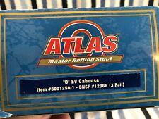 O Scale Atlas EV Caboose BNSF rd#12366 3 Rail #3001250-1
