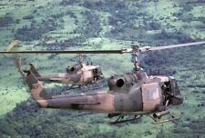 """U.S. Air Force Bell Uh-1P Helicopters 5""""x 7"""" Vietnam War Photo 77"""