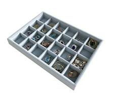 Multi Function Practical Drawer Organizer Jewelry Show Tray Home Store 24-Grid