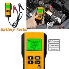 12V Car Vehicle Battery Tester Automotive Analyzer Volt Test Digital LCD Display