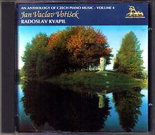 Vorisek Piano Sonata Impromptus GATTINI Radoslav Kvapil Unicorn-Kanchana CD