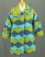 207 Corky & Company girl fleece fuzzy decoration winter coat jacket EUC Size 3