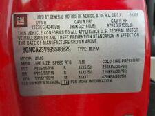 2009 2010 2011 CHEVY HHR ENGINE 2.4 VIN V8TH DIGIT OPT LE9 68k MILES COBALT G5