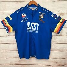 Panther Racing Menards Johns Manville 2004 IndyCar Chevrolet Pit Crew Shirt 2XL