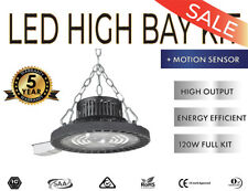 LED High Bay 120W Industrial Shed Factory UFO LED Highbay Lights 5 YEAR WARRANTY