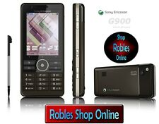 Sony Ericsson G900 Foncé Braun (sans Simlock) 3G 5MP WLAN Touch comme Neuf Ovp