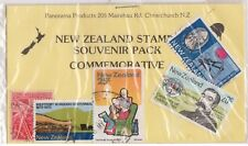 (V1-130) 1960-70 NZ old stamps pack 5 stamps pictorials (DV)