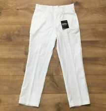 Puma Boys Golf Pants Bright White Youth Large - 12 ( 578138 04 ) New!