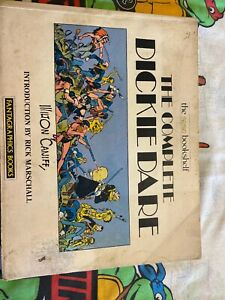 THE COMPLETE DICKIE DARE - FANTAGRAPHICS BOOKS - MILTON CANIFF