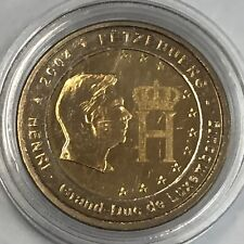 Pièce 2 euros 2004 Luxembourg sous capsule