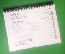 "LASER 8.5X11"" Fujifilm F80EXR F85EXR FinePix Camera 140 Page Owners Manual Guide"