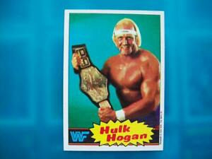 Topps HULK HOGAN ROOKIE Trading Card 1985 Pro Wrestling ECW AEW WWF WWE NXT NWO
