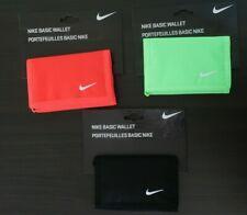 Nike Basic Wallet Swoosh Logo Trifold Various Colours Unisex BNWT