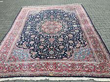 tappeto persiano antico kirman firmato 330X265