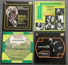 """FURTWÄNGLER / BEETHOVEN"" - Historical Recordings - 5 LP NM/M !!!"