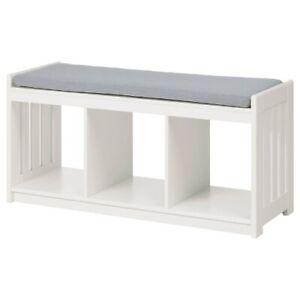 Brand New Ikea PANGET Storage Bench / Storage Shoes Cabinet, White - 104.741.59