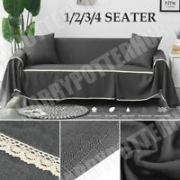 Sofa Cover Seater Quilted Couch Covers Lounge Protector Pet Dog Slipcovers Mat