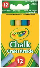 Crayola - Anti Dust Coloured Chalk Pack Of 12