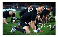 DAN CARTER - NEW ZEALAND ALL BLACKS AUTOGRAPHED SIGNED A4 PP POSTER PHOTO 2