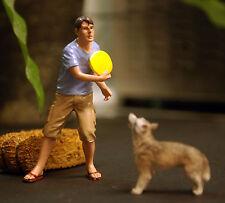 23927, Frisby & Hund, 1:24, American Diorama