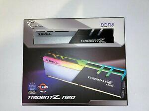 G.SKILL Trident Z Neo Series 64GB (2 x 32GB) 288-Pin DDR4 F4-4000C18D-64GTZN