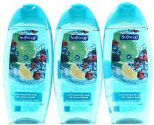 3 Softsoap Citrus Splash & Berry Fusion Moisturizing Body Wash 12oz Bottles