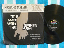 RICHARD MALTBY Man With The Golden Arm 78 rpm w/ PICTURE SLEEVE Vik 1956 JAZZ