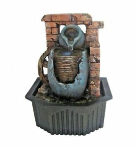 Water Urn small indoor / Outdoor table top Water fountain water feature