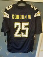 NFL Los Angeles LA Chargers Melvin Gordon III Mens On Field Jersey Size Medium M