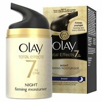 Olay Total Effects Night Cream Moisturiser 7-In-1 Anti-Ageing Firming Cream 50ml