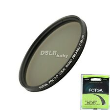 FOTGA 58mm super slim MC multi-coated Circular Polarizing Camera lens filter CPL