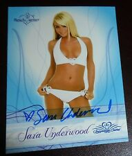2008 Sara Underwood Autographed Bench Warmer Card