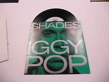 Iggy Pop Shades/Baby It Can't Fall 45RPM 1986 UK A&M Records + poster EX