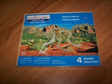 Creatology Wooden Puzzle Velociraptor