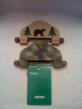 Lot Hunting Handpainted Magnetic Notepad Holders Magnets