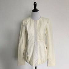 J Brand Womens White Jacket Size Small