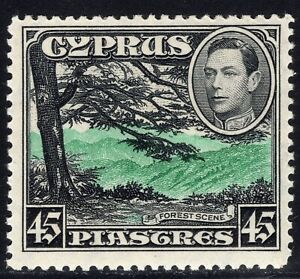 3.18.CYPRUS,1938 SG.161 MNH,FOREST