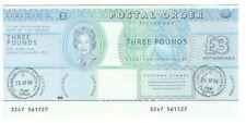 British Postal Order, £3 Gift Aid 2006